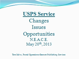 USPS Service PowerPoint PPT Presentation