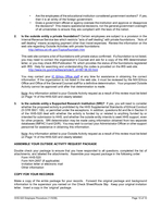 NATIONAL INSTITUTES OF HEALTH NIH Ethics Program Procedure for Submitting the HH