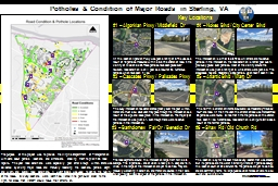 Potholes & Condition of Major Roads in Sterling, VA