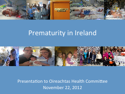 Presentation to Oireachtas Health Committee