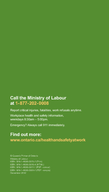 Ministry of Labour Worker Health  Safety at W ork Prevention Starts Here Worker Health and Safety Awareness in  Steps   INTRODUCTION  TEP  GET ON BOARD         TEP  GET IN THE KNOW      UIFSXBZTUPmOE