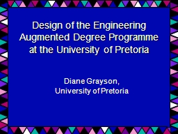 Design of the Engineering Augmented