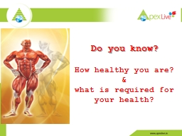 Do you know? PowerPoint PPT Presentation