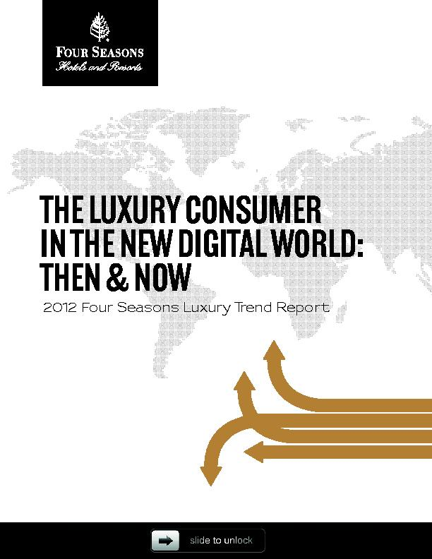 Luxury Trend Report | PowerPoint PPT Presentation