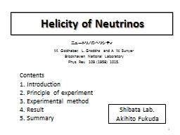 Helicity PowerPoint PPT Presentation
