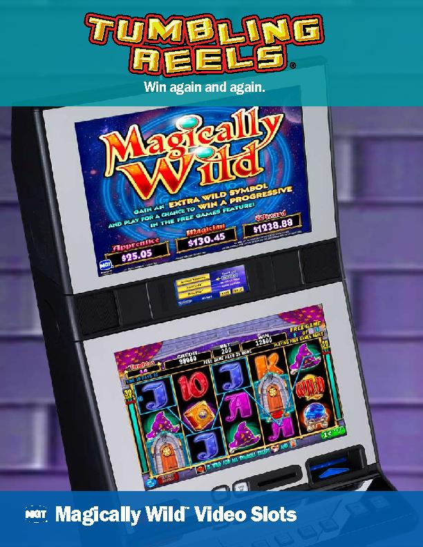 Magically Wild Video Slots