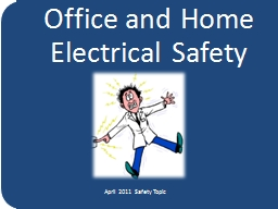 Office and Home Electrical Safety