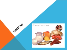 Proteins PowerPoint Presentation, PPT - DocSlides