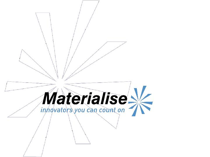 Materialise product & services portfolio