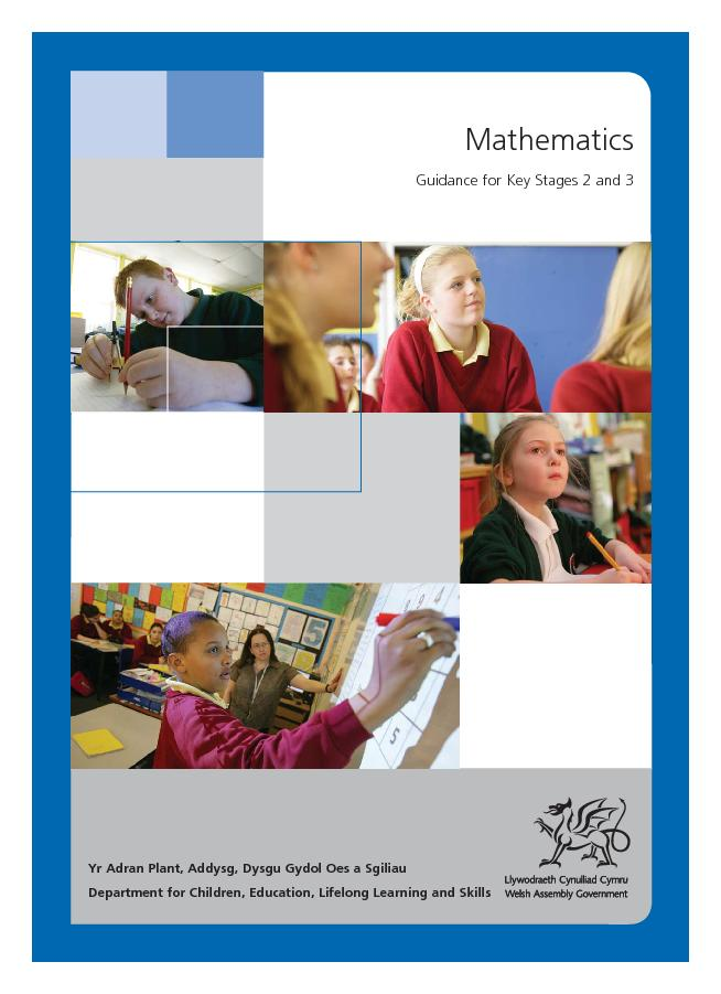 MathematicsGuidance for Key Stages 2 and 3