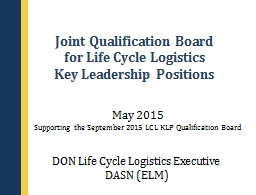 Joint Qualification Board