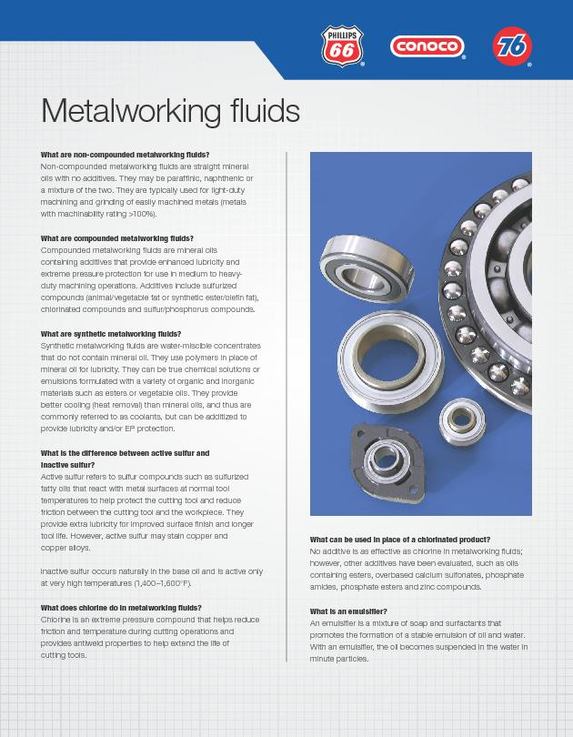 What are non-compounded metalworking uids?Non-compounded metalworking