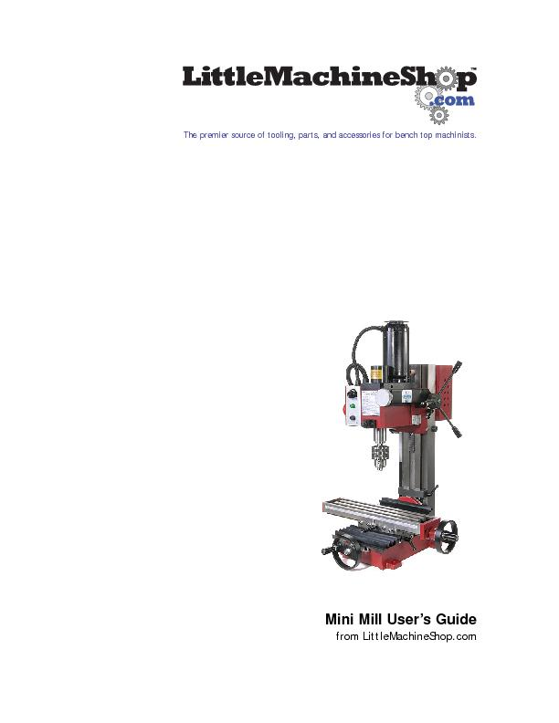 The premier source of tooling, parts, and accessories for bench top ma