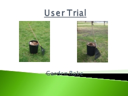 User Trial