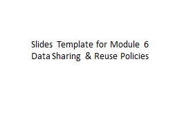 Slides Template for Module 6