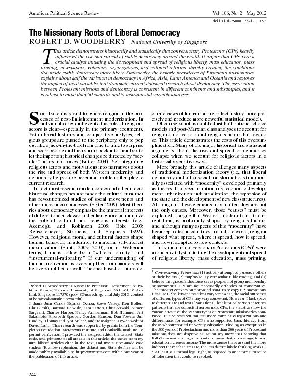 AmericanPoliticalScienceReviewVol.106,No.2May2012