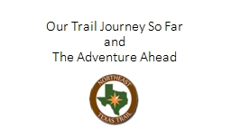 Our Trail Journey So Far