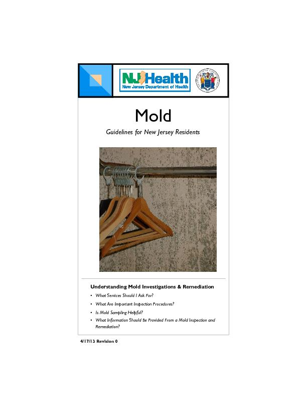 Understanding Mold Investigations & Remediation What Services Should I