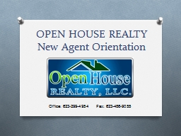 OPEN HOUSE REALTY