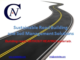 Sustainable Road Building