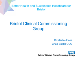 Better Health and Sustainable Healthcare for Bristol