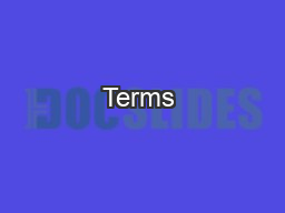Terms & ConditionsLegal Mumbo Jumbo PowerPoint PPT Presentation