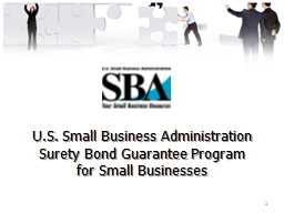 1 U.S. Small Business Administration