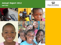 Annual Report 2012 PowerPoint PPT Presentation