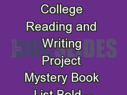 teachers college writing project Find and save ideas about teachers college on pinterest the teachers college reading and writing project is a research think tank and staff development.