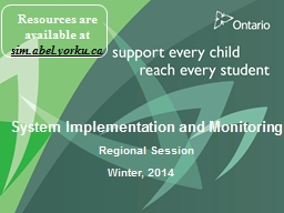 System Implementation and Monitoring PowerPoint PPT Presentation