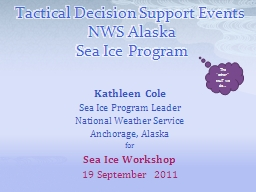 Tactical Decision Support Events PowerPoint PPT Presentation