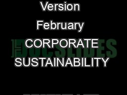 BESTSELLERS CHEMICAL RESTRICTIONS Version  February  CORPORATE SUSTAINABILITY  BESTSELLER Page of  TABLE OF CONTENT