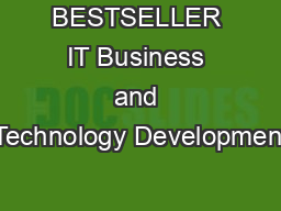 BESTSELLER IT Business and Technology Development