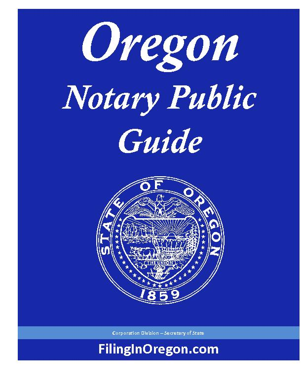 Notary Public PowerPoint PPT Presentation