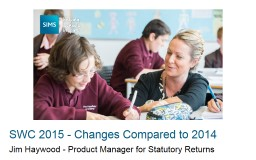 Jim Haywood - Product Manager for Statutory Returns