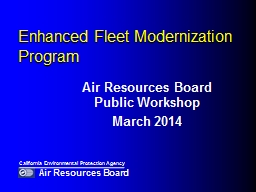 Enhanced Fleet Modernization Program PowerPoint PPT Presentation