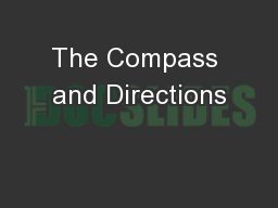 The Compass and Directions