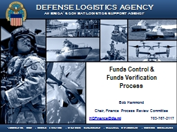 Funds Control &