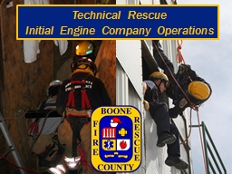 Technical Rescue PowerPoint PPT Presentation