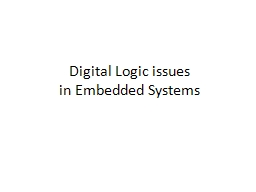 Digital Logic issues