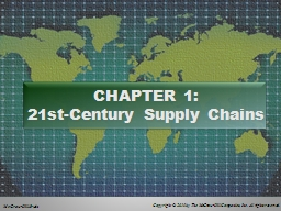 CHAPTER 1: PowerPoint PPT Presentation