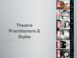 Theatre Practitioners PowerPoint PPT Presentation