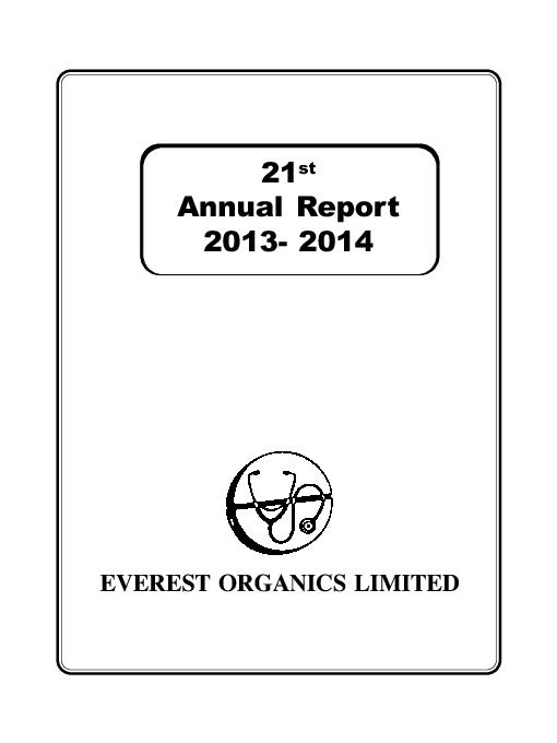EVEREST ORGANICS LIMITED PowerPoint PPT Presentation