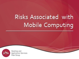 Risks Associated with