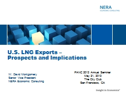 U.S. LNG Exports – PowerPoint PPT Presentation