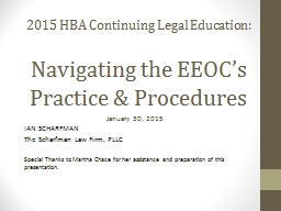 2015 HBA Continuing Legal Education: