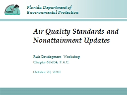 Air Quality Standards and Nonattainment Updates PowerPoint Presentation, PPT - DocSlides