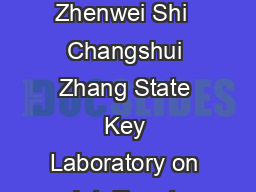 Blindly Separating Mixtures of Multiple Layers with Spatial Shifts Kun Gai  Zhenwei Shi  Changshui Zhang State Key Laboratory on Intelligent Technology and Systems Tsinghua National Laboratory for In