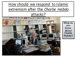 How should we respond to Islamic extremism after the PowerPoint PPT Presentation