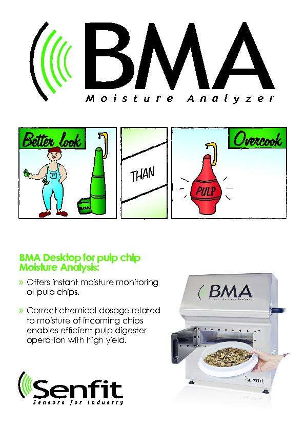 BMA Desktop for pulp chip